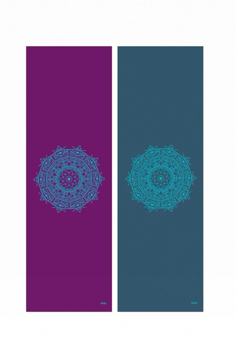 Дизайнерские - Йога мат LEELA Mandala - 1