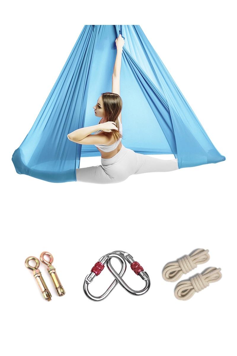 Эластичные - Эластичный гамак для йоги базовый - 1