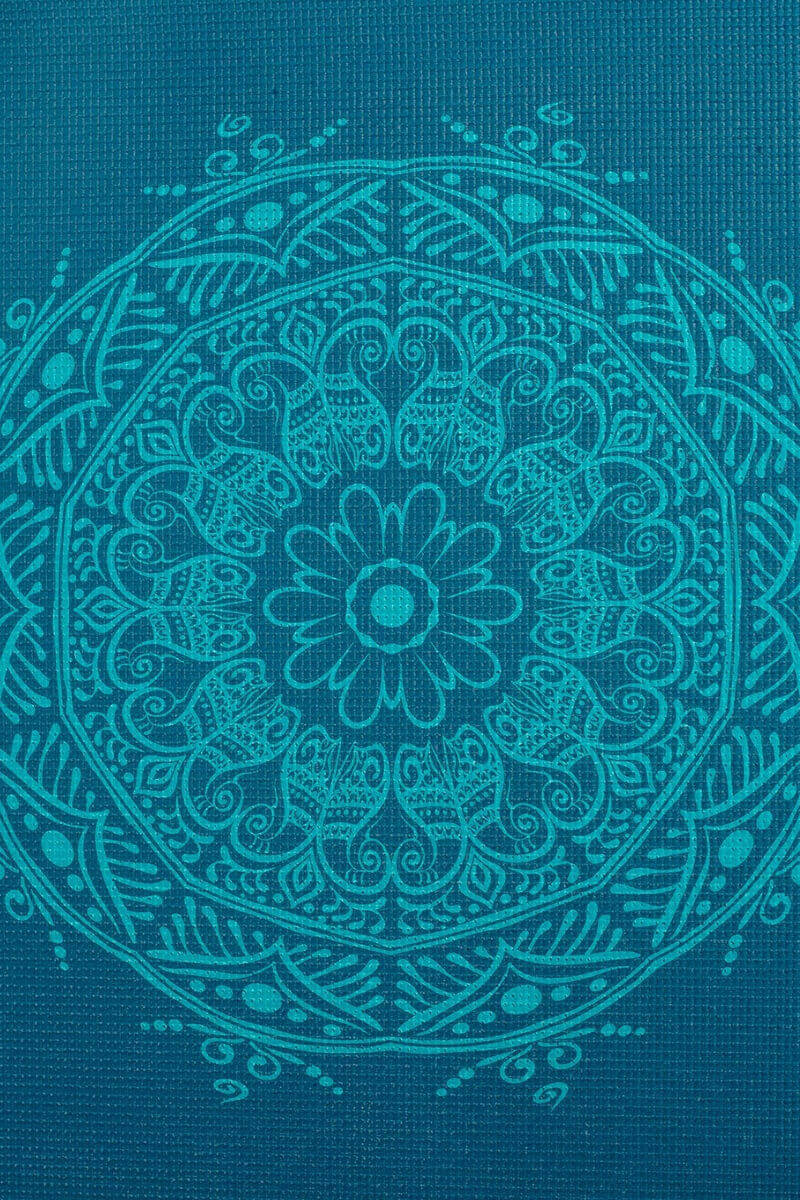 Дизайнерские - Йога мат LEELA Mandala - 7