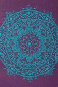 Дизайнерские - Йога мат LEELA Mandala - 4