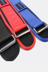 Пояса, кистевые петли - Фитнес пояс универсальный Red - 2