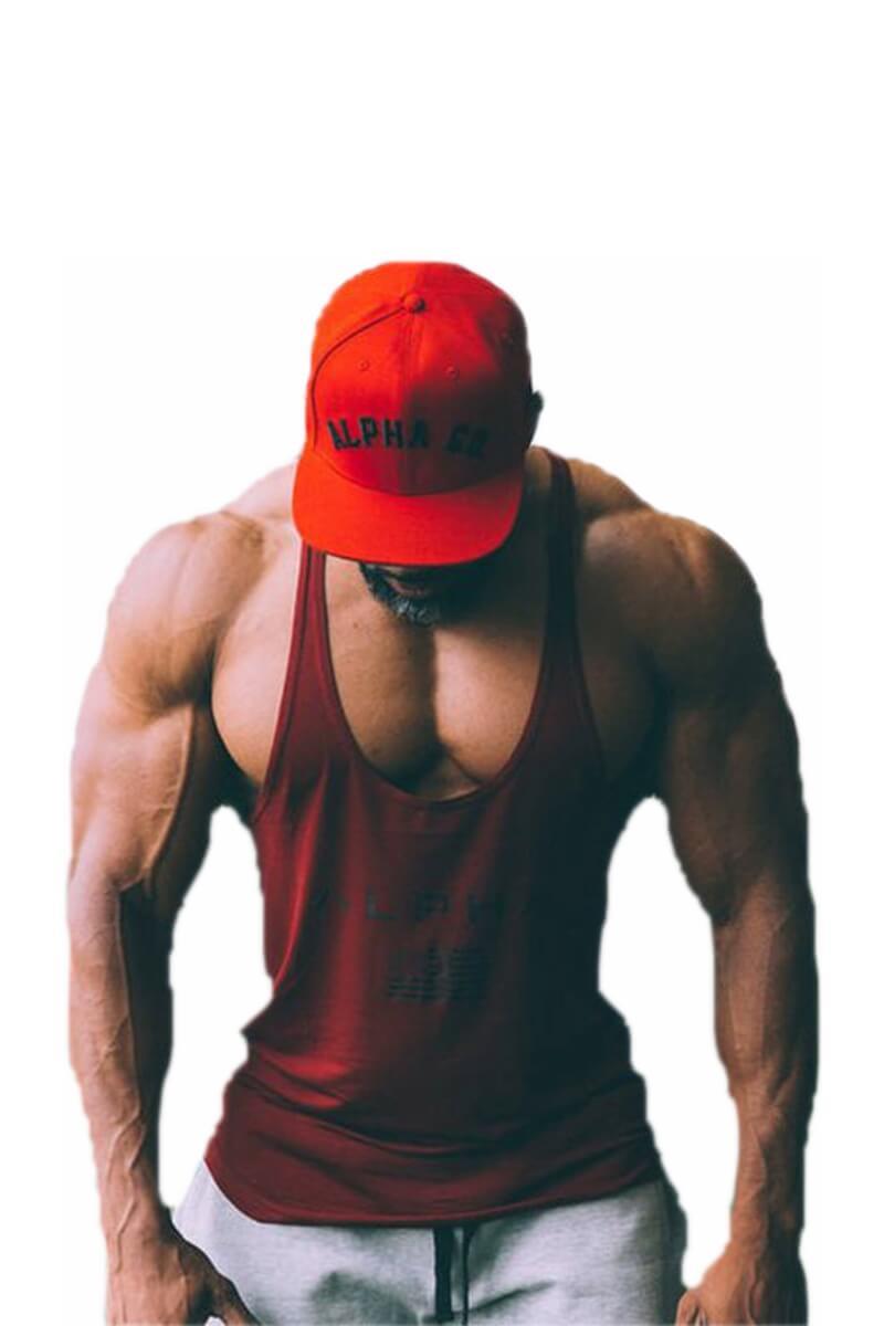 Майки, футболки Мужские - Майка Alpha Dark - 2