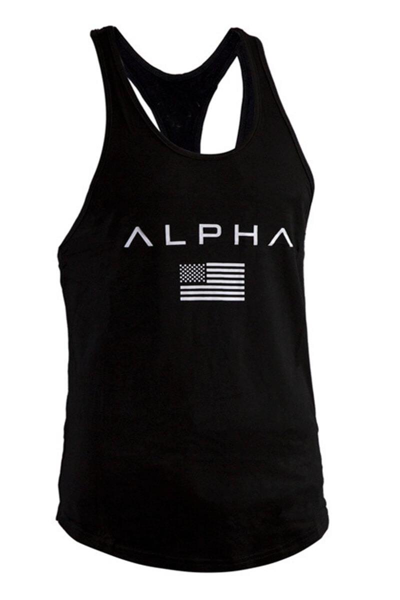 Майки, футболки Мужские - Майка Alpha Dark - 1