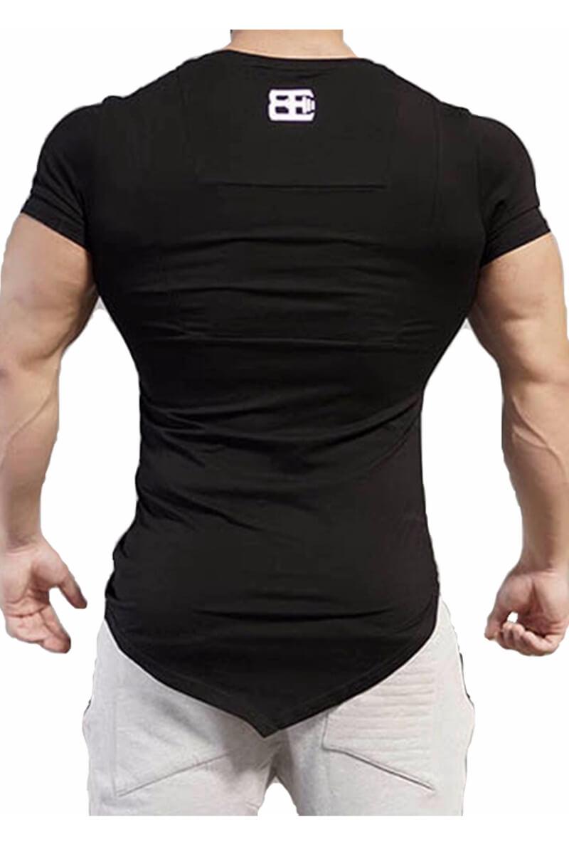 Майки, футболки Мужские - Футболка BE Dark Asymmetric - 2
