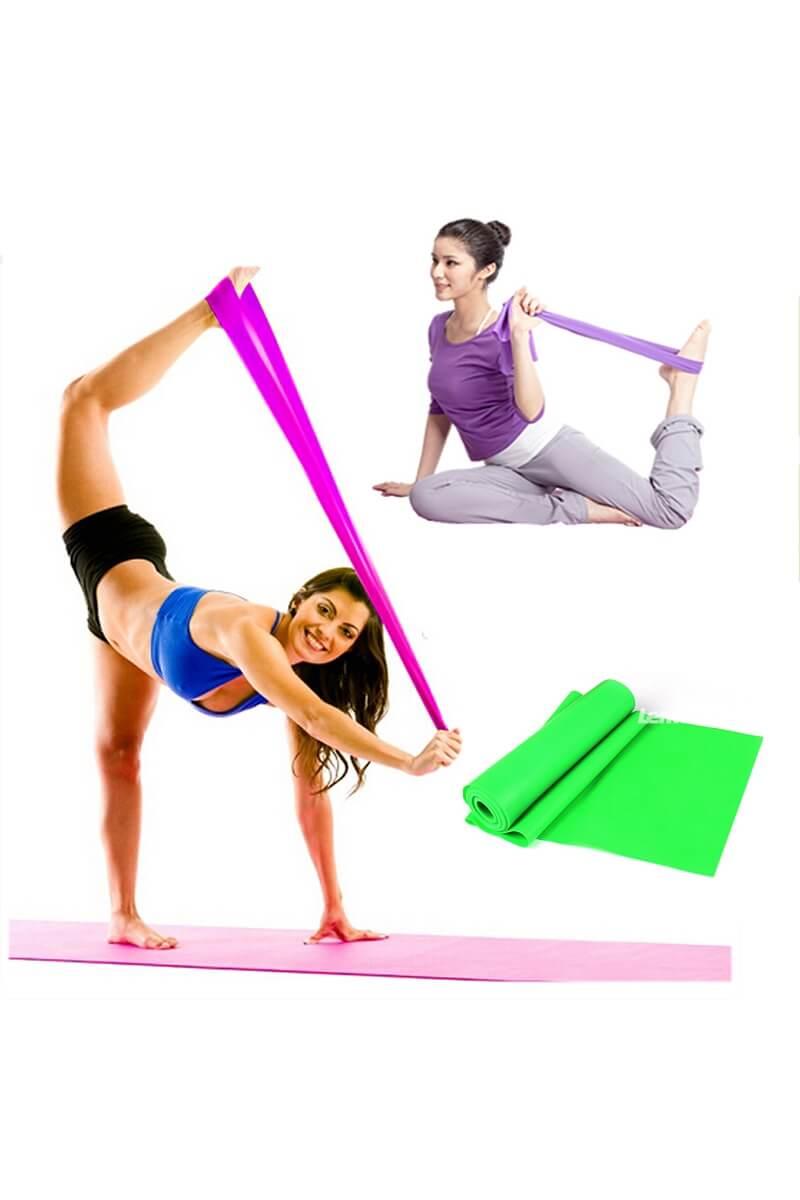 Текстиль, ремни, резинки - Эластичная лента для йоги - 3