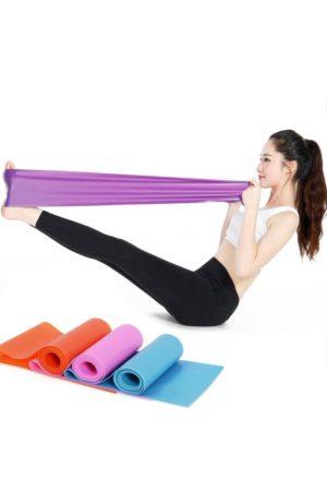 Эластичная лента для йоги