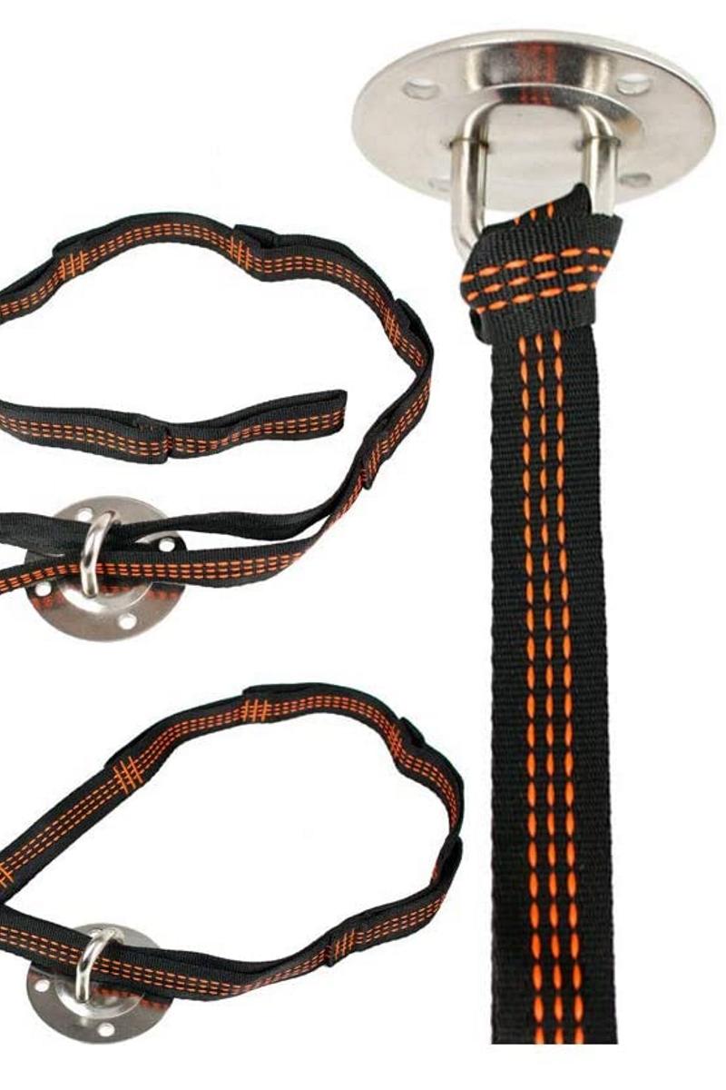 Эластичные - Комплект строп для йога гамака «Strong» 110 - 1