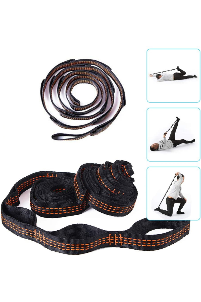 Эластичные - Комплект строп для йога гамака «Strong» 110 - 2